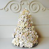 button flower triangle tree