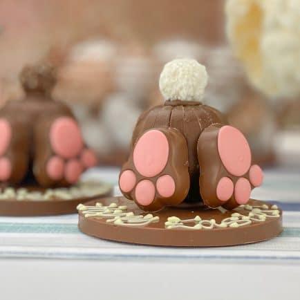 chocolate orange bunny bums