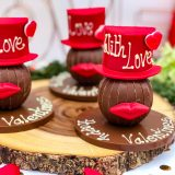 Valentine Hat and Lips - moustache -Bow Tie (8 of 10)