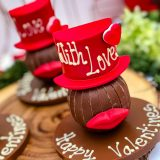 Valentine Hat and Lips - moustache -Bow Tie (9 of 10)