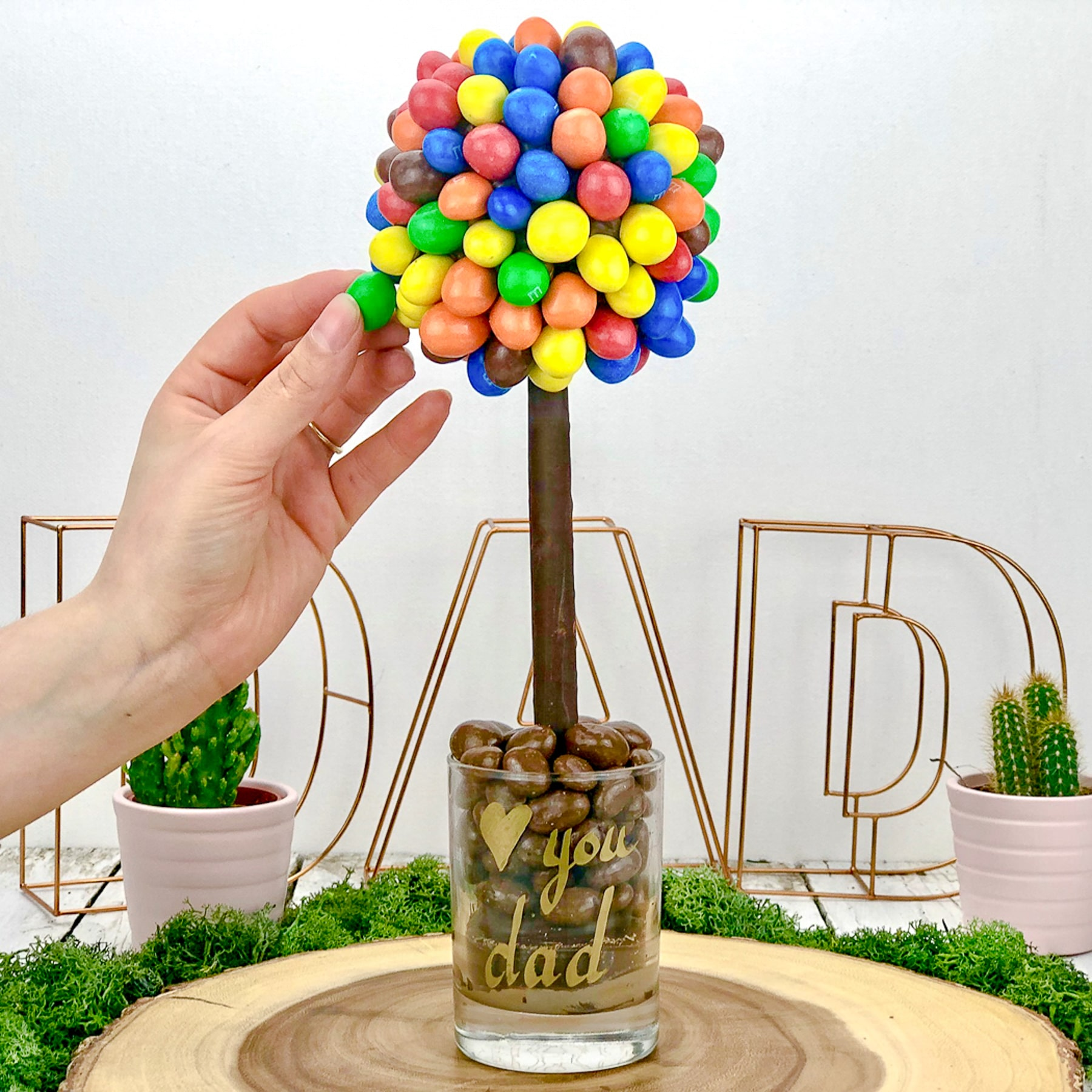 M AND Ms Tree
