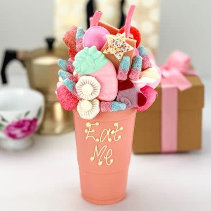 Pink Chocolate Smash Cup