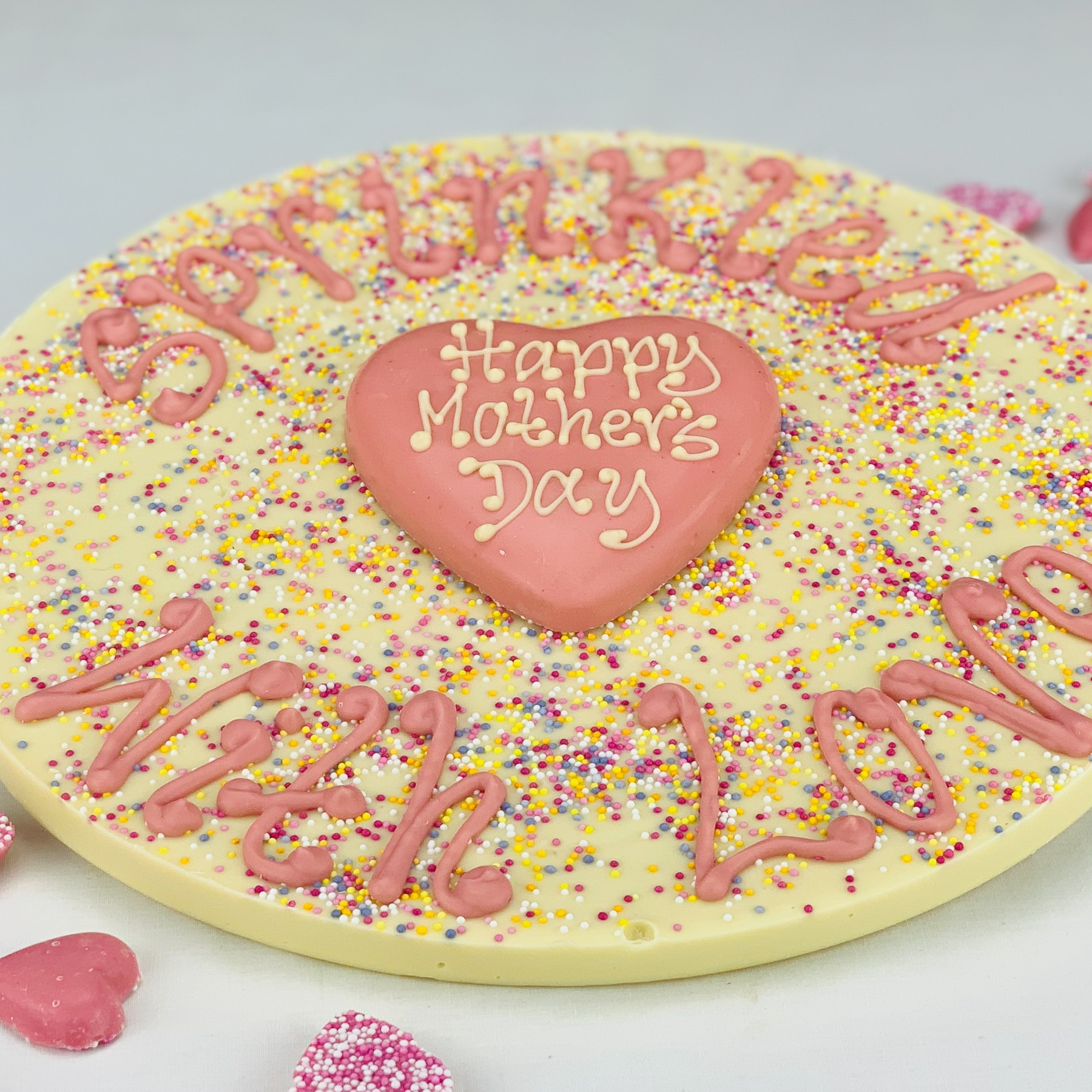 Valentines chocolate jazzie sprinkled with love