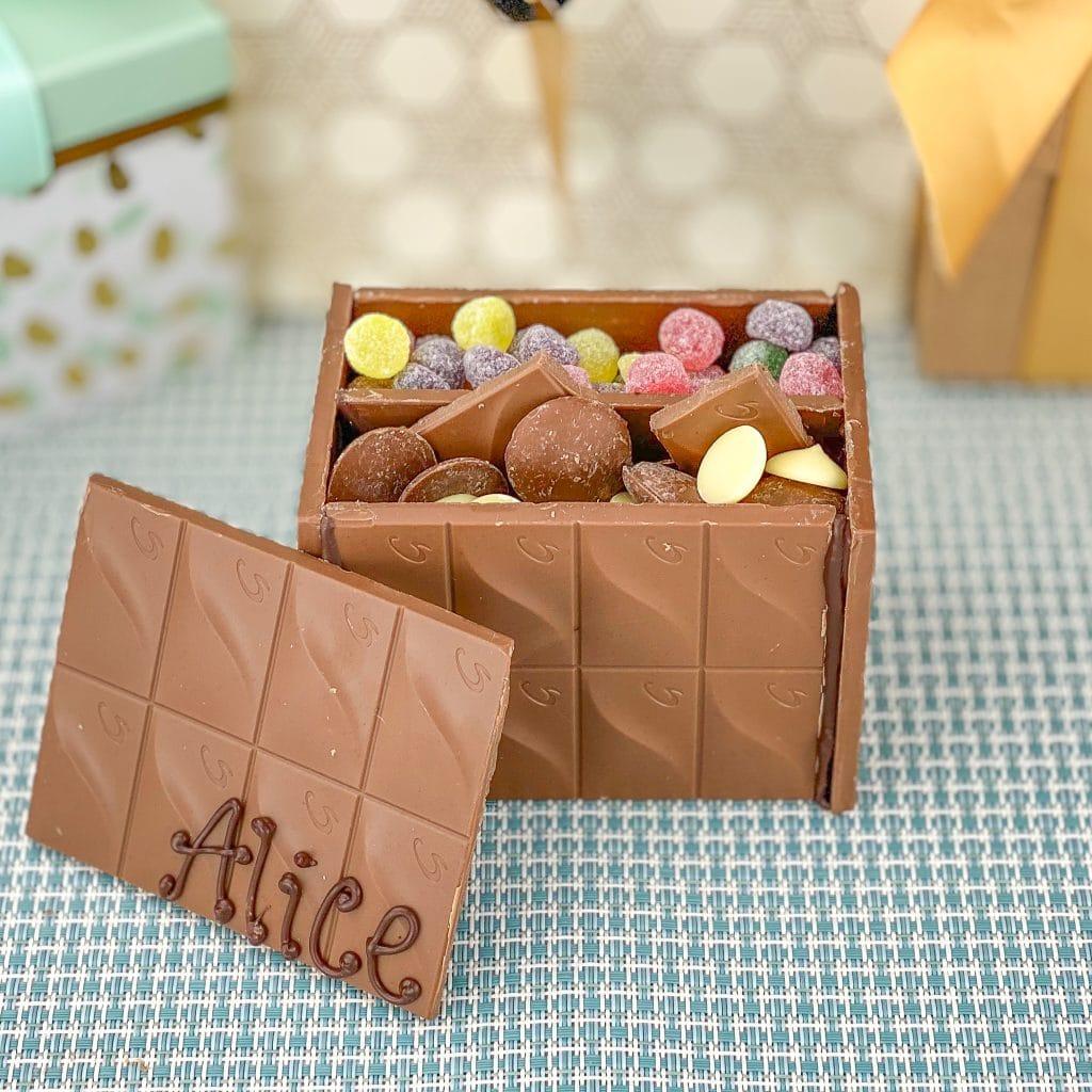 Chocolate box gift