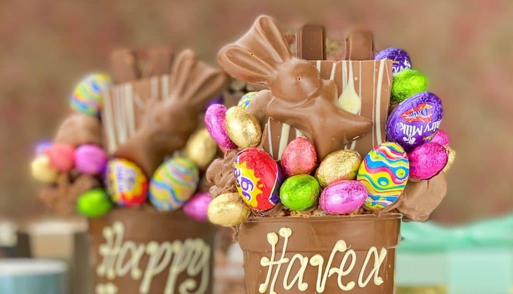 Chocolate thank you gift