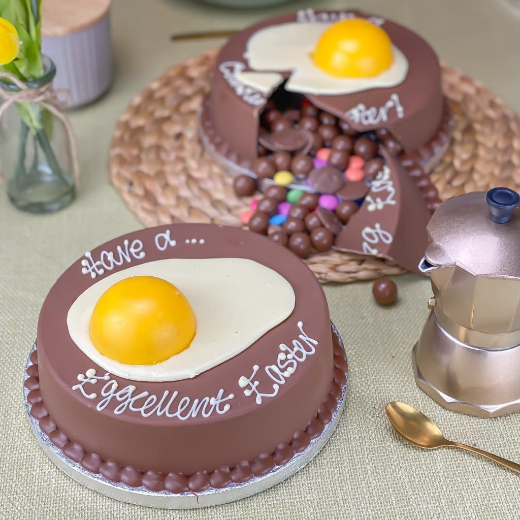 personalised easter gifts smash fried egg