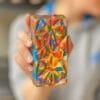 the rainbow shell of an lgbtq+ pride-edition loaded choco bloc