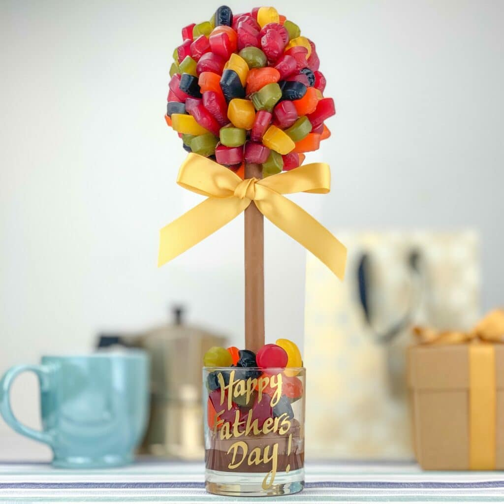A father's day sweet tree gift