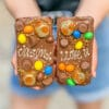personalised fronts on two reese's loaded choco blocs