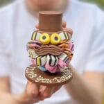 Liquorice Allsorts Head with Hat and Moustache Gift Card